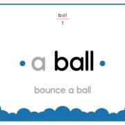 Ball-Text