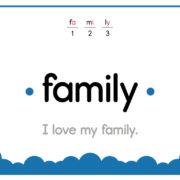 Family-Text