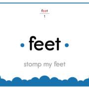 Feet-Text