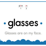 Glasses-Text