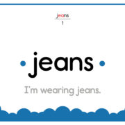 Jeans-Text