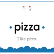 Pizza-Text