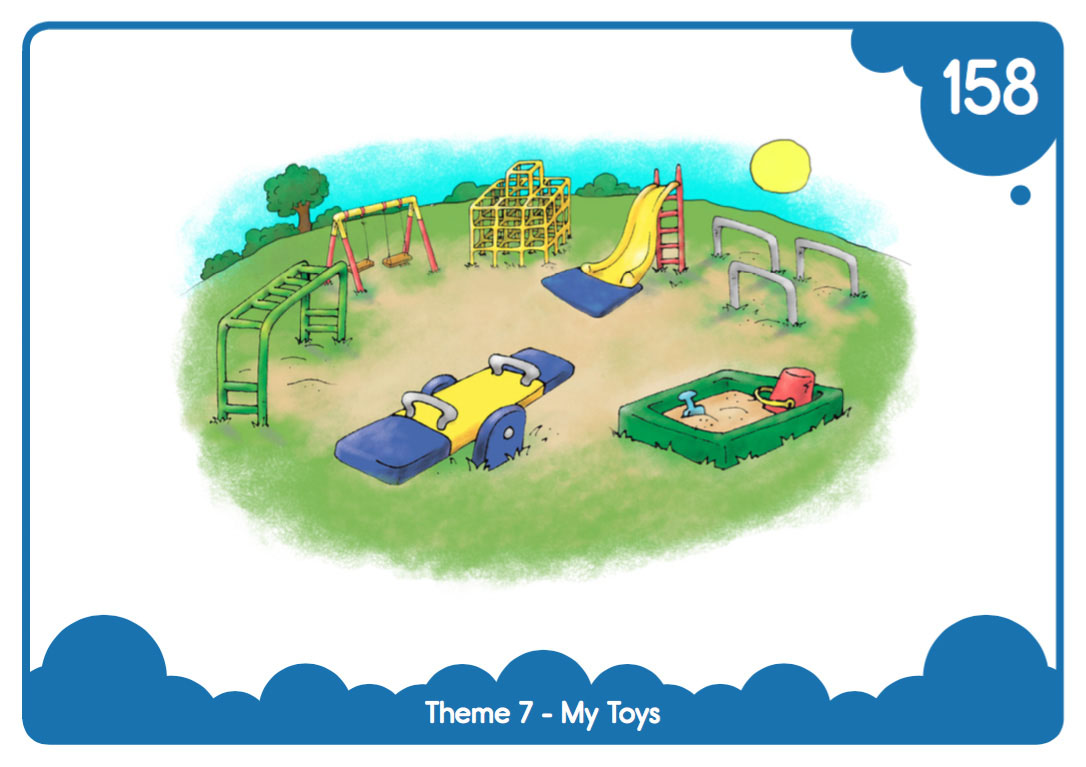 "Easy-Print ""My Toys"" Flash Cards"