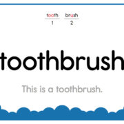 Toothbrush-Text